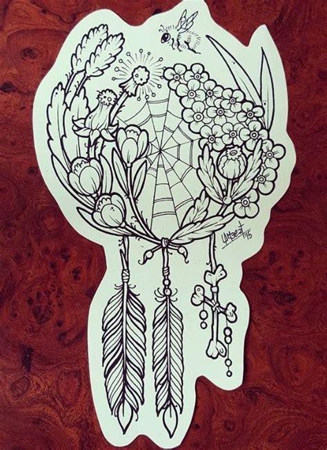 25 beautiful dreamcatcher tattoo thigh ideas on pinterest