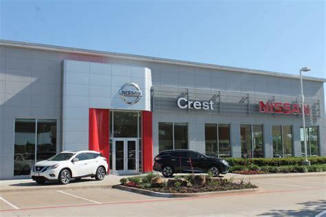 crest nissan car dealers frisco tx reviews photos