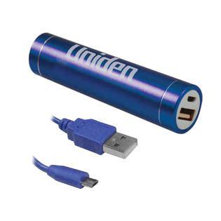 uniden 2000 mah power bank blue