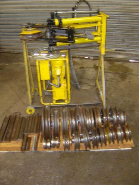 hydraulic pipe bender for sale hilmor rh3m hydraulic pipe tube bender for sale