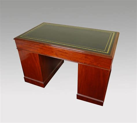Mahogany Desks For Sale by Mahogany Box Top Pedestal Desk For Sale Antiques Classifieds
