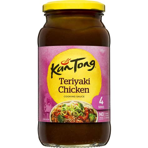 Masterfoods Teriyaki Marinade kantong stir fry sauce teriyaki chicken 500g woolworths