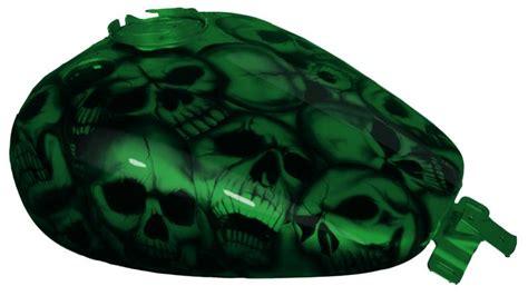 green paint sles skull lovers flhrc custom paint set 09 10 11 road king