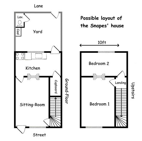 Floor Plans Of Tv Show Houses by Spinner S End