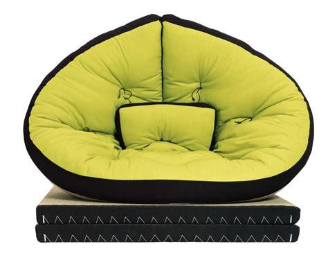 poltrona futon poltrona futon con perfilo nero glove 90x200 cm vivere zen