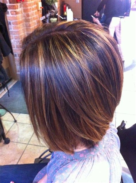 highlights on dark hair 50 25 best ideas about highlights for short hair on