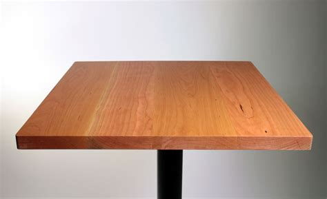 solid cherry wood restaurant table top sir belly