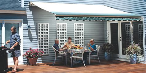 sunsetter vista series retractable patio awnings canada