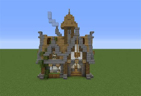 Minecraft Torch Light Medieval Survival House Grabcraft Your Number One