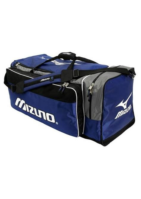 tas gymsack mizuno black sporty sports bag mizuno holldall black blue bags equipment