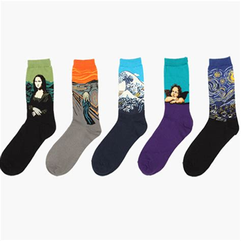 Art Pattern Socks | printed socks picture more detailed picture about
