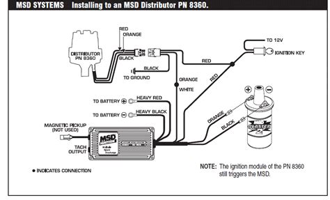 msd 6al box wiring diagram i an 1971 corvette 454 bb the car was running after a drive and i put it away in the