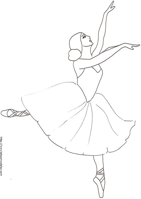Coloriage D Une Danseuse Dessin 9 T 234 Te 224 Modeler T 234 Te S Coloriage DanseuseL