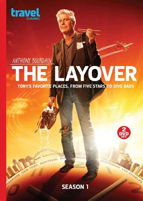 anthony bourdain amazon the layover dvd news announcement for the layover