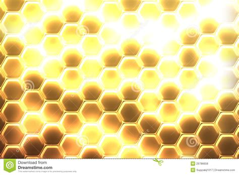 gold hexagon pattern hexagon background stock photo image of computer
