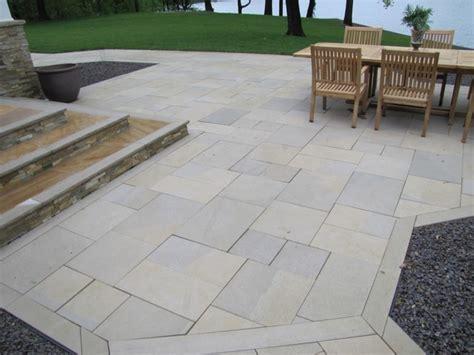 limestone patio pavers indiana limestone pavers indianapolis by hickory ridge