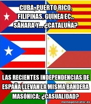 Banderas Meme - las banderas independentistas de cuba puerto rico