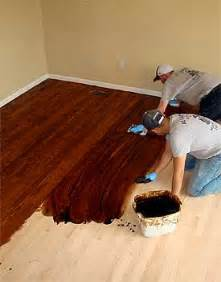 How To Hardwood Floor Color by Staining Hardwood Floors Custom Color