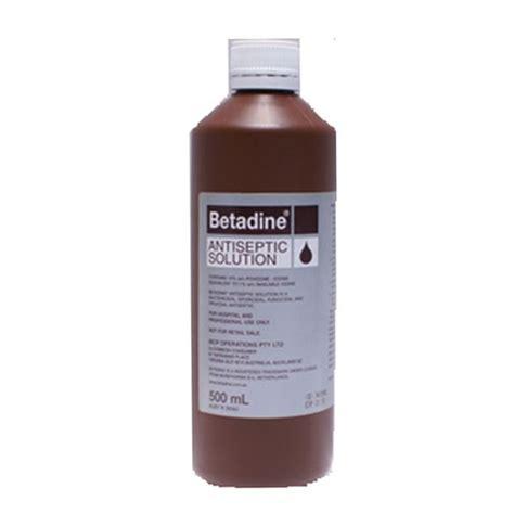 Povidone Iodine by Povidone Iodine Iodine Antiseptic Betadine Solution