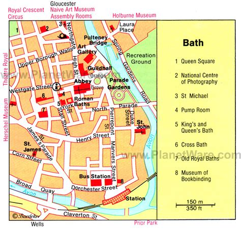 map bathrooms 12 top rated tourist attractions in bath planetware