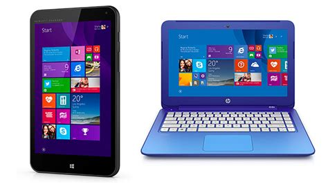 Hp Microsoft hp joins microsoft s chromebook and android assault with 199 laptop and 99 windows tablet