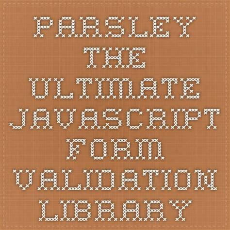 parsley pattern js 39 best responsive web design images on pinterest