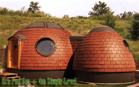 Pod Houses | energy efficient eco pod home art