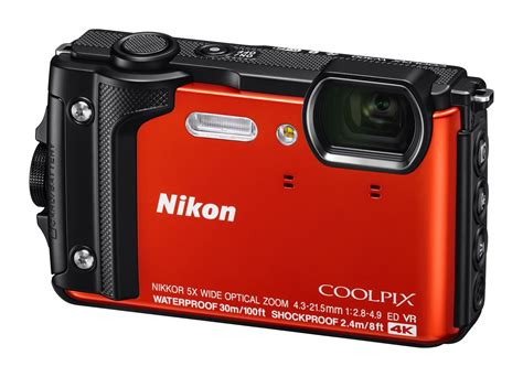 nikon 4k nikon s coolpix w300 is a rugged point and shoot with 4k chops