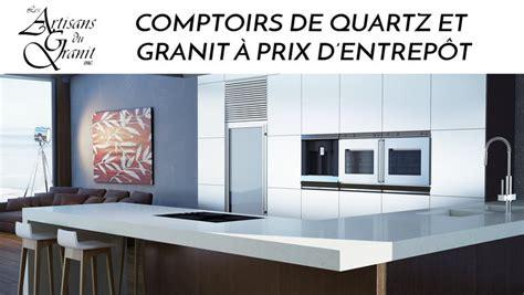 comptoir en granite prix comptoirs quartz granit meilleur prix lesventes ca