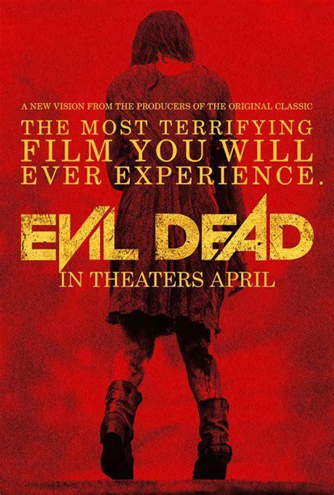 film qui ressemble a evil dead evil dead une nouvelle affiche qui vous fait voir rouge