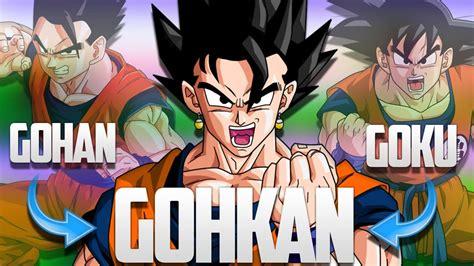 imagenes de goku y gohan fusionados dragon ball super goku and gohan fusion theory otakukart
