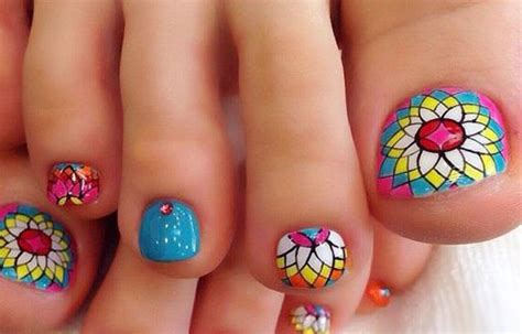 imagenes uñas decoradas delos pies dise 241 os para u 241 as de los pies con fotos u 241 asdecoradas club