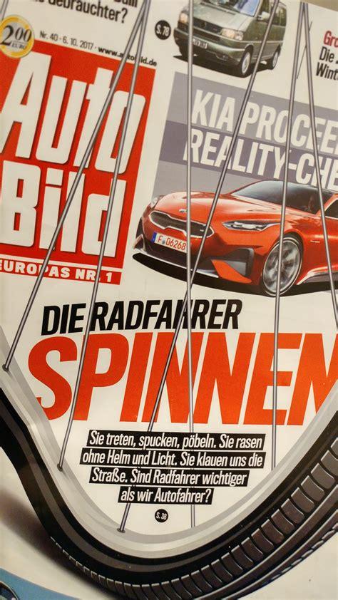 Autobild Radfahrer Spinnen by The Cycling Dead Eine Replik Zur Autobild Ausgabe Vom 6
