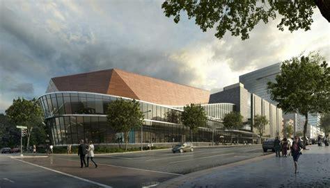 centene corporate auditorium parking garage design