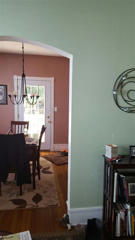 Facing Dining Room Colors Warm Greige Paint Color For Low Light Facing Living