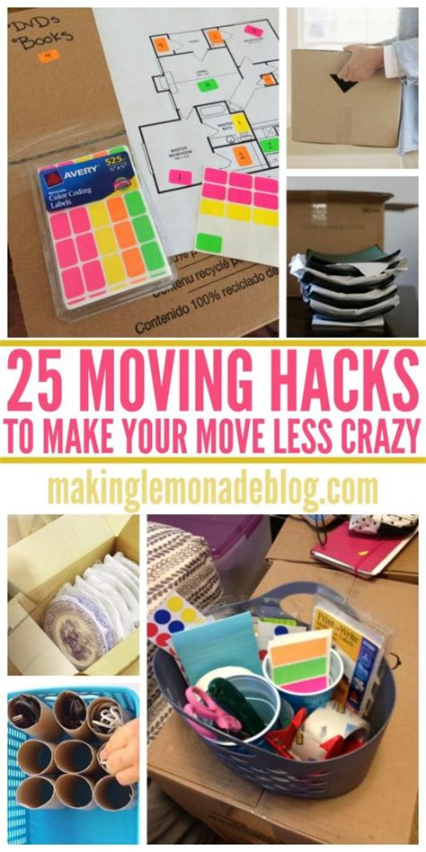 moving hacks 25 clever moving hacks to make your move easier making