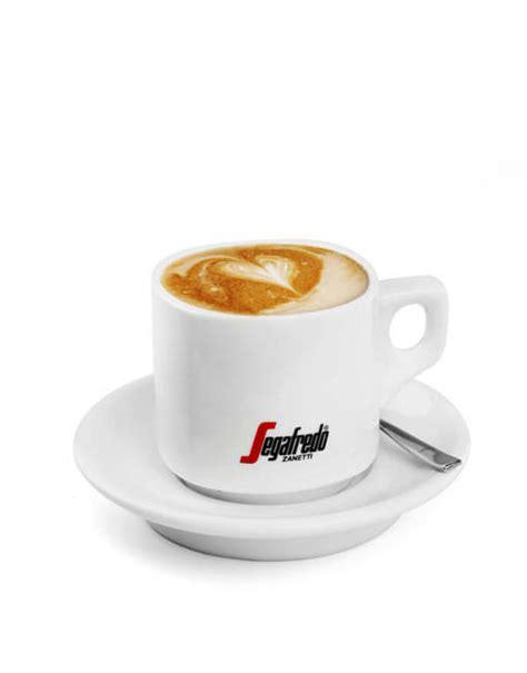 Large Cappuccino Cup Set of 4   Segafredo Zanetti