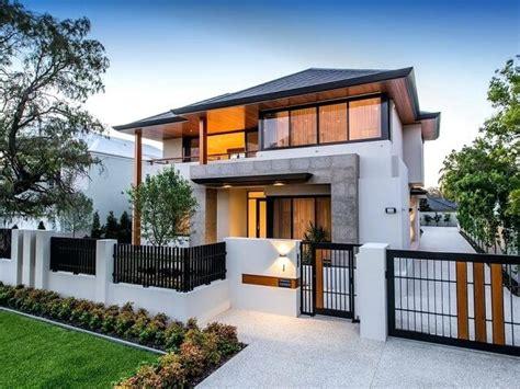 pilihan desain pagar rumah  halaman depan belakang  area taman interiordesignid