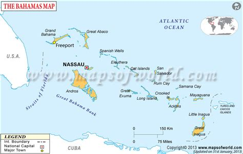 map of usa and bahamas bahamas map map of bahamas