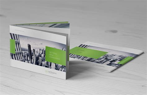 landscape layout printing landscape brochure mock up punedesign