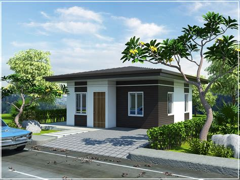 Different Types Of House Plans by Philippine Bungalow Homes Mediterranean Design Bungalow