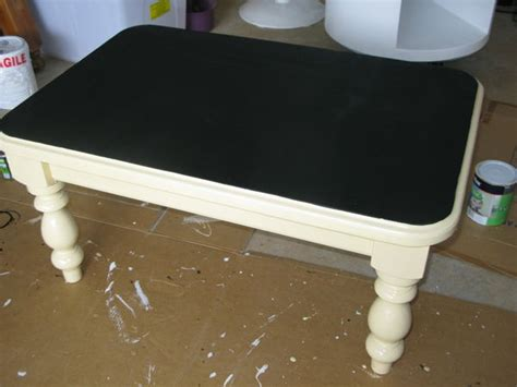 chalk paint glass table rev green shabby chic coffee table childs chalkboard