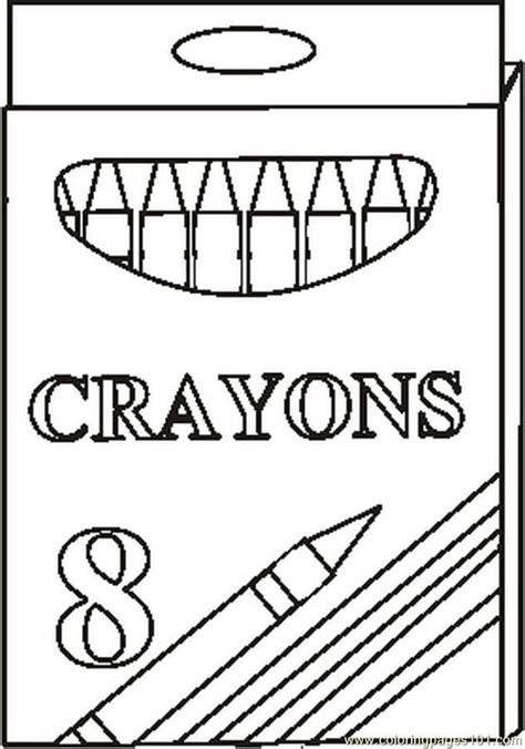 Coloring Pages Crayons Az Coloring Pages Crayon Coloring Pages Printable