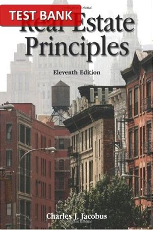 real estate principles 11th edition test bank for real estate principles 11th edition test