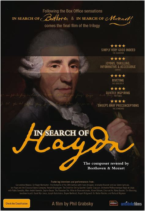 up film rotten tomatoes in search of haydn 2012 rotten tomatoes