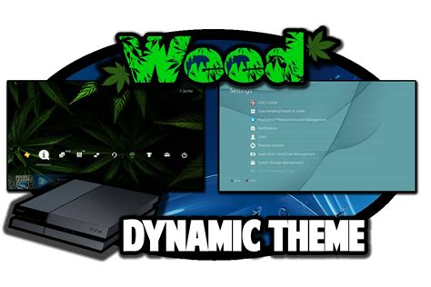 themes ps4 weed ps4 themes dynamic weed theme video in 60fps youtube