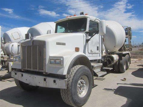kenworth concrete truck 2000 kenworth w900 concrete mixer for sale gilroy ca