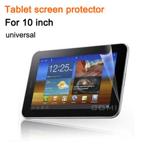 screen guard 10 6 inch free shipping universal hd 10 quot lcd clear screen protective