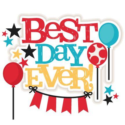 popular titles best day title svg scrapbook cut file clipart