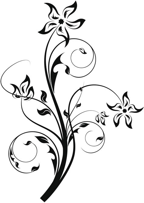 flower and vines tattoo designs tantalizing thigh designs for that are truly epic